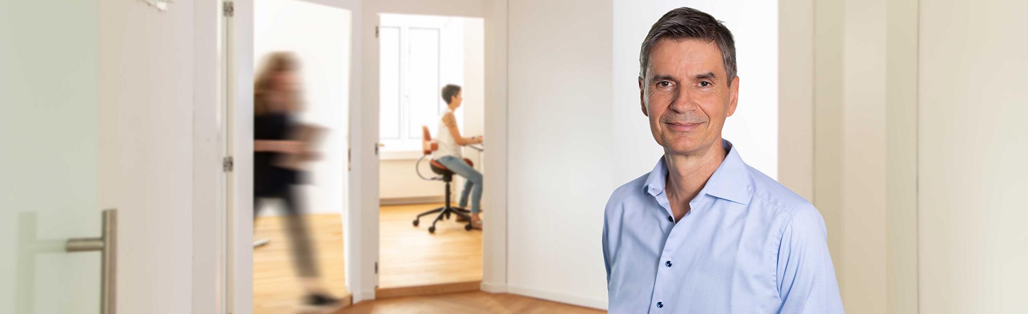 Jürgen Strauss, Geschäftsleitung